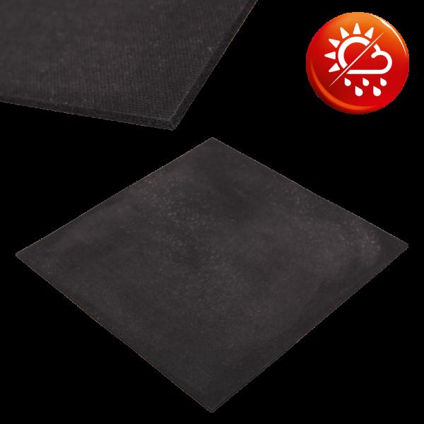 NK Moosgummi schwarz Platten