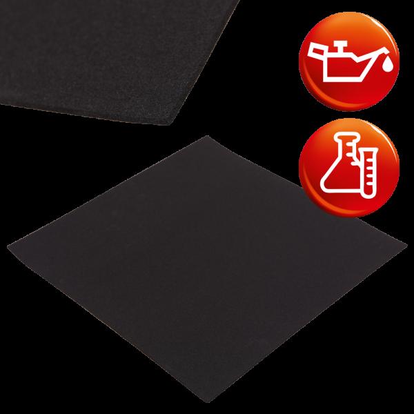 NBR Zellkautschuk schwarz Platten