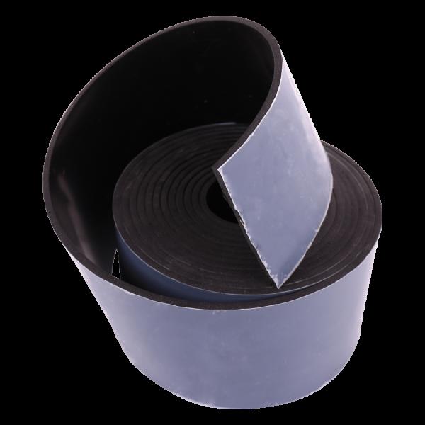 NR/SBR schwarz 65Sh Rollen einseitig selbstklebend