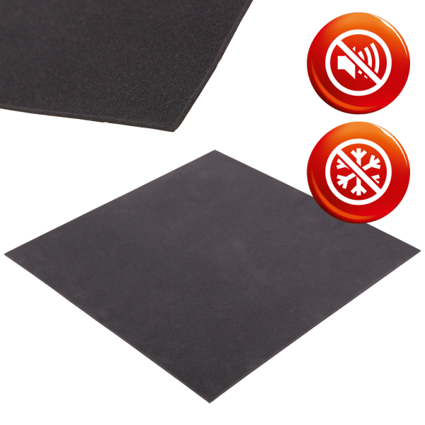 PE foam anthracite RG33 sheets