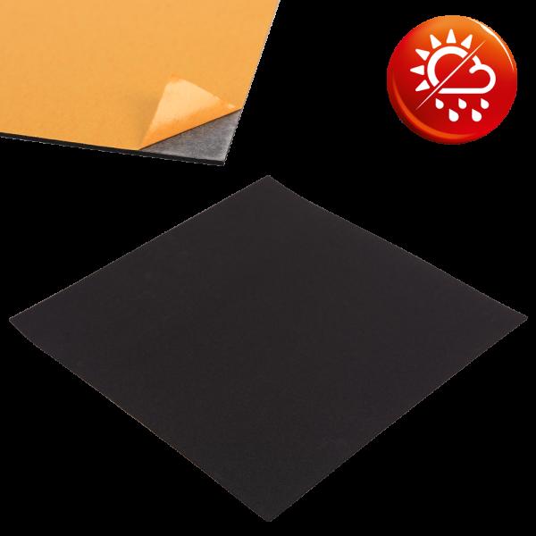 EPDM Zellkautschuk schwarz Platten einseitig selbstklebend